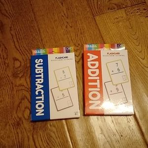 Kids flashcards subtraction+addition